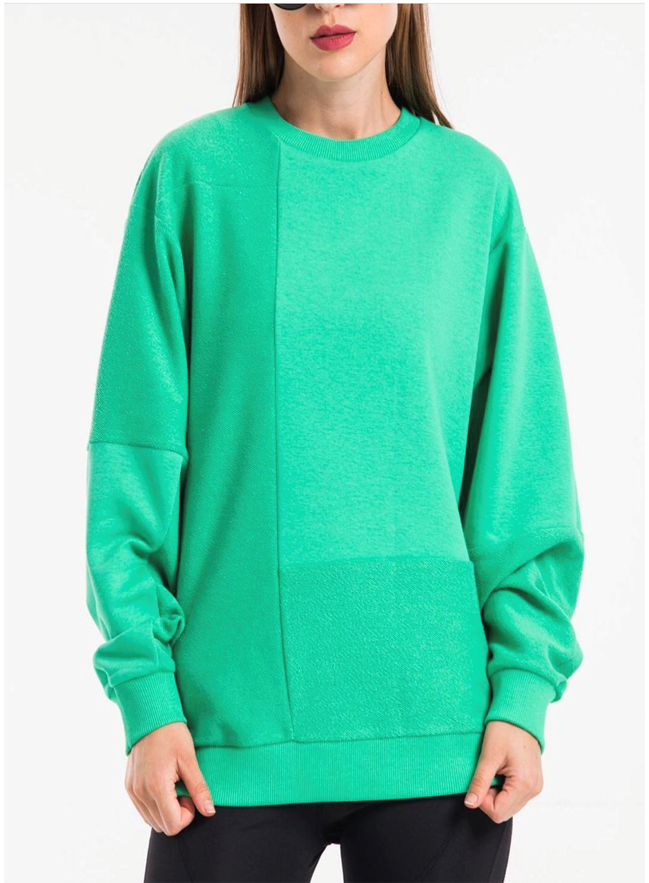 Women's double wearable sweatshirt 114